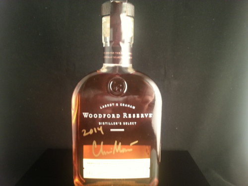 Woodford Reserve Signed