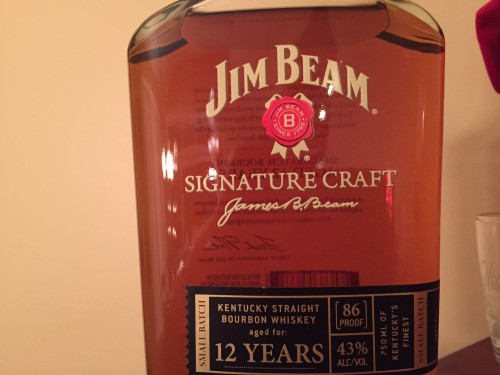 Jim Beem Signature Craft 12 year