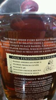 Makers PS Liquor Barn Barrel No1