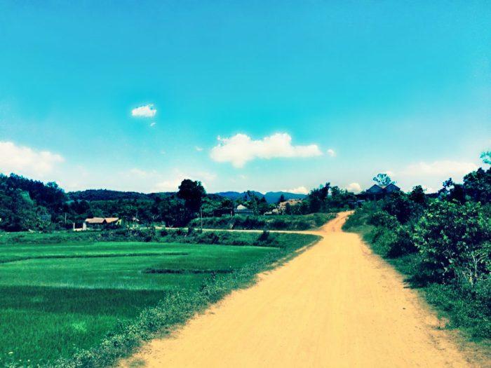Dreamy road in Vietnam