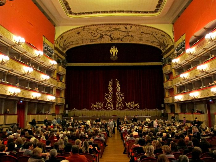 The Verdi Theater in Florence