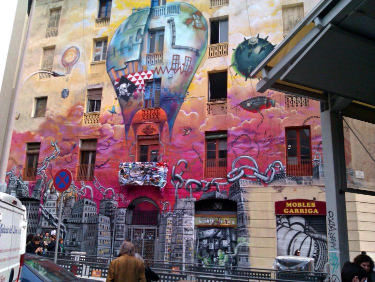 La Carboneria, Street Art