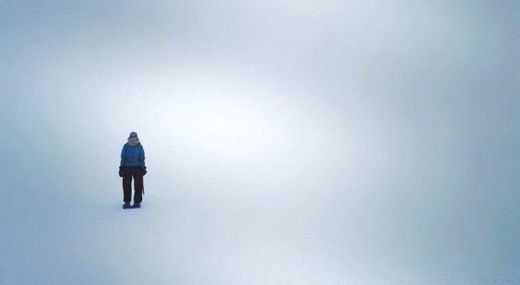Snowshoeing On Mt. Rainer