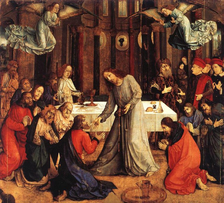 The Institution of the Eucharist, Justus van Gent