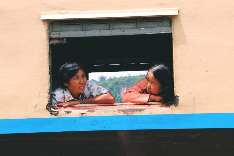 Train Travel In Myanmar