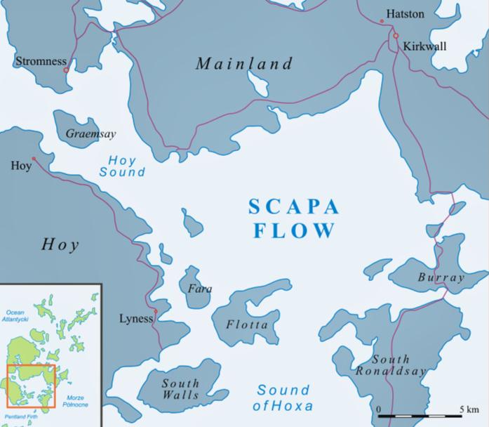 Scapa Flow, Scotland