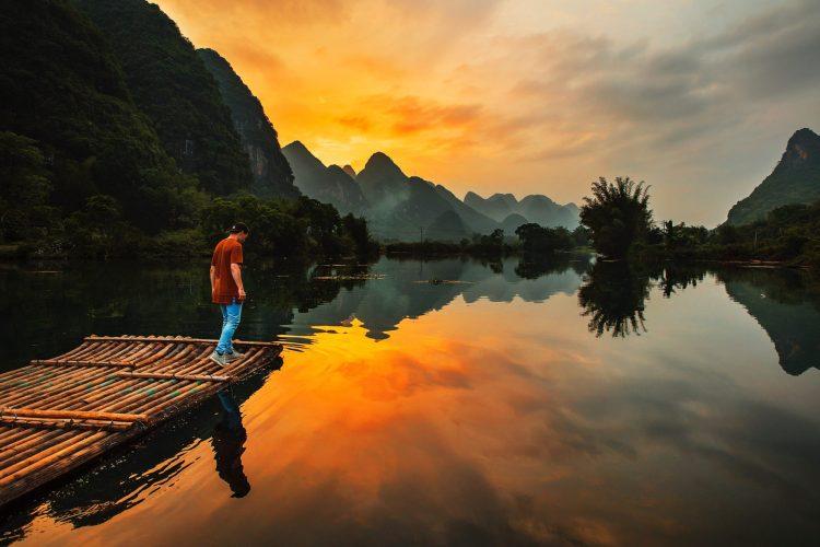 Yulong River, Guilin, China