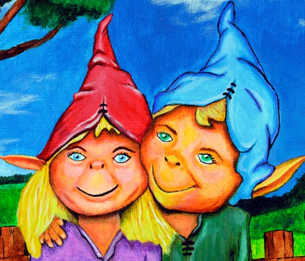 Elves in magical forest - Close up 1