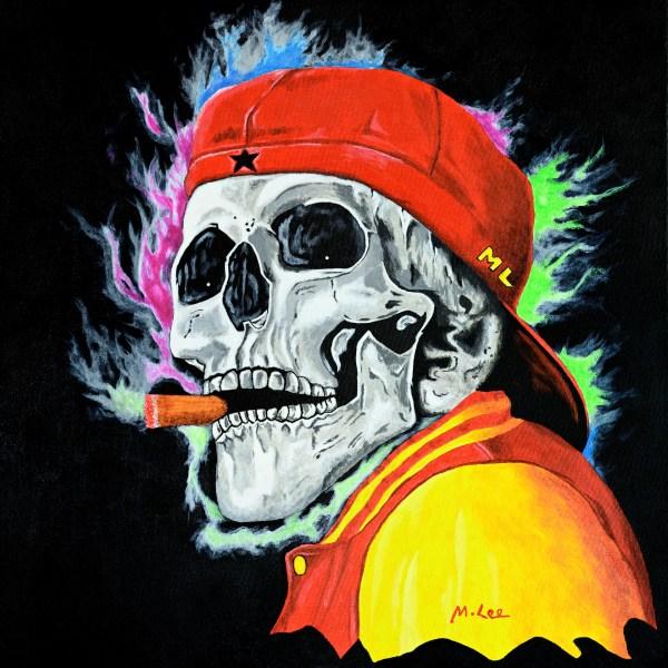 Skull - One last cigar