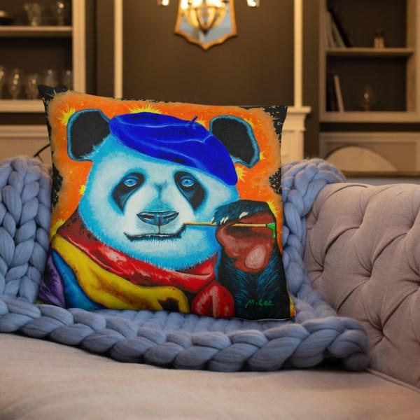 Artist Panda Cushion (5)