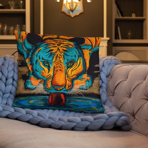Eyes of the Tiger-Cushion (3)