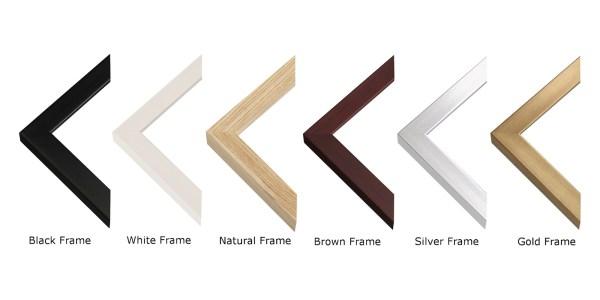 Fine Art Frame options