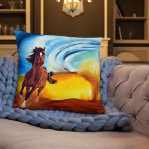 Horse and Tornado Cushion (22)