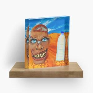 Zombie got pranked_ Acrylic Block by mikeylee (3)