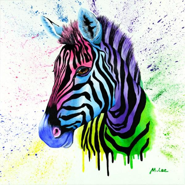 Living Colour Zebra