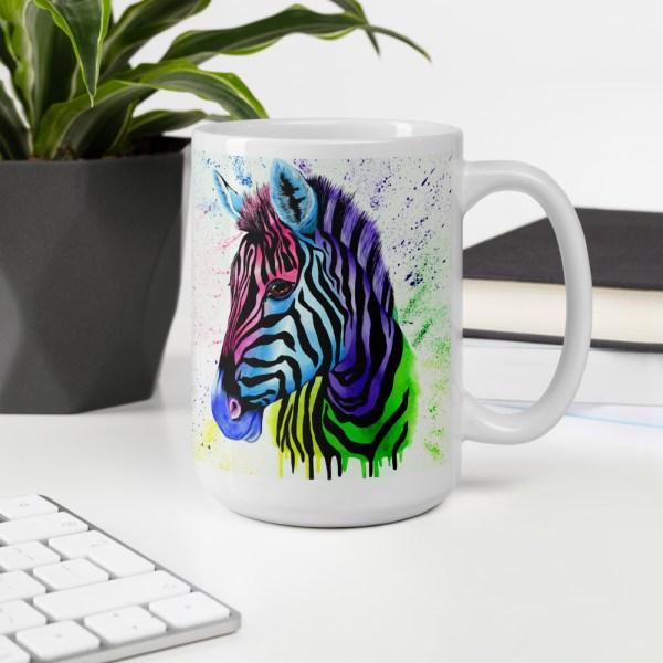 Living Colour Zebra - mug (14)