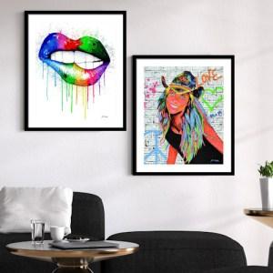 Modern wall art framed prints