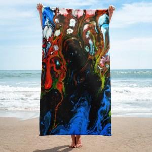 Entity-of-Pollution-Towel-Modern-Wall-Art (1)