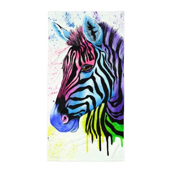 Living-Colour-Zebra-Towel-Modern-Wall-Art (2)