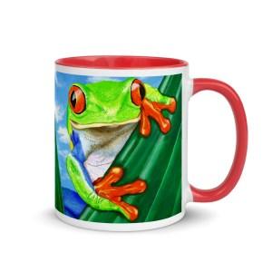 Ellie-the-Tree-Frog-Colour-Mug-Modern-Wall-Art (1)