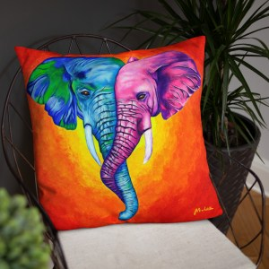 Elephants-in-Love-Cushion-Modern-Wall-Art (1)