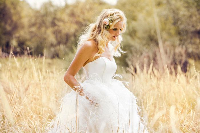 A Garden Wedding Bridal Shoot