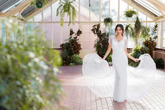 Botanical Wedding Dress Ideas