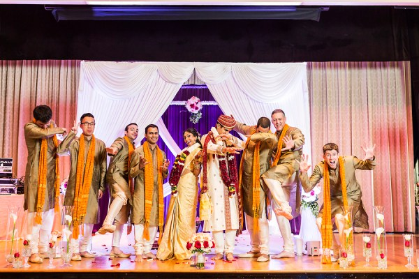 summer Indian wedding