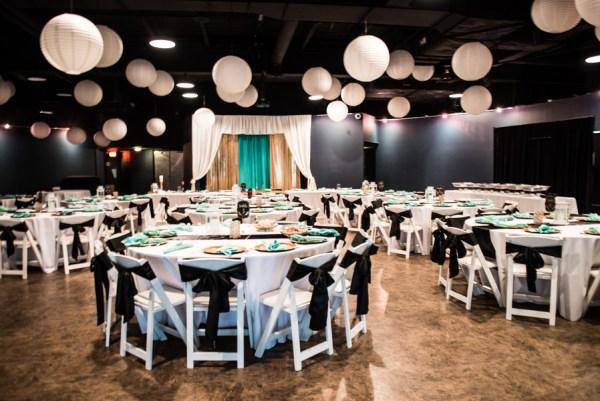 gold planetarium wedding