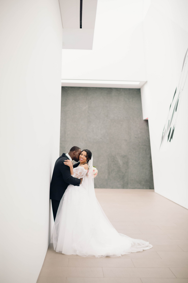 elegant museum wedding