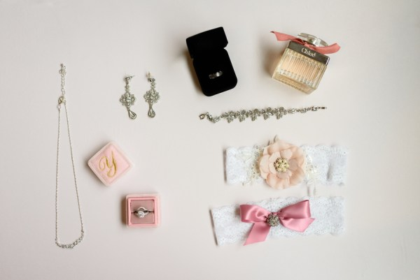 pink glam wedding