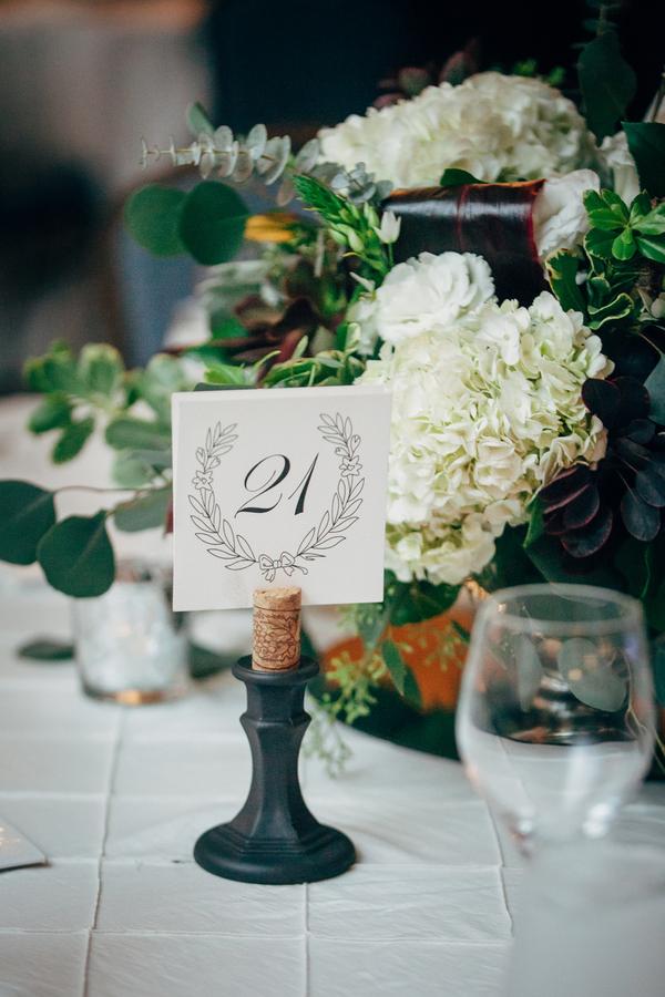 classic low-key wedding