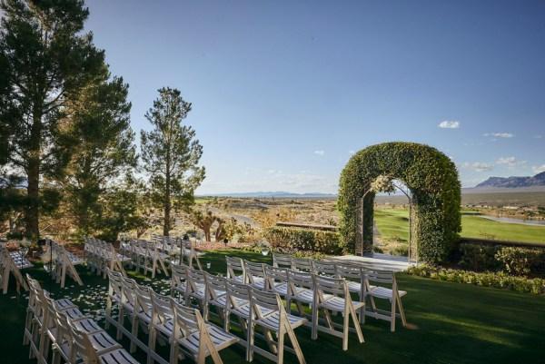 golf resort wedding