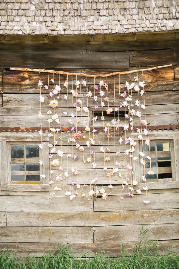 whimsical rustic wedding