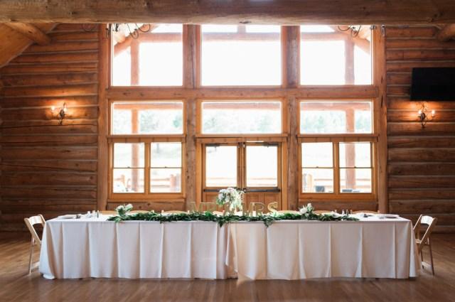 chic lake house wedding