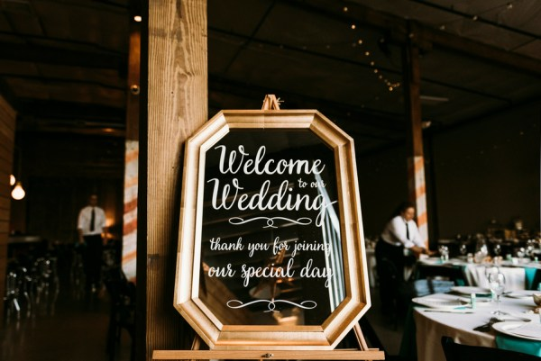 rustic warehouse wedding