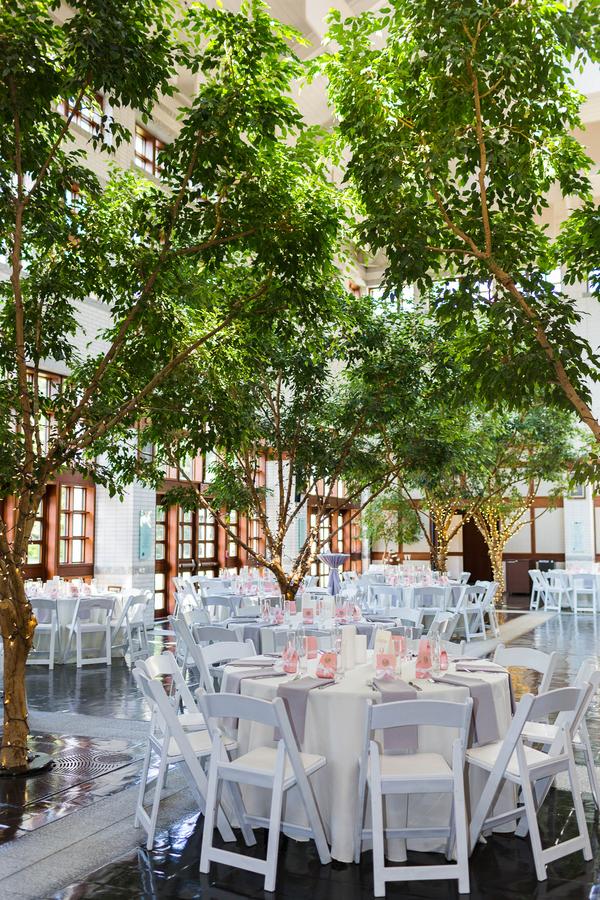 summer museum wedding