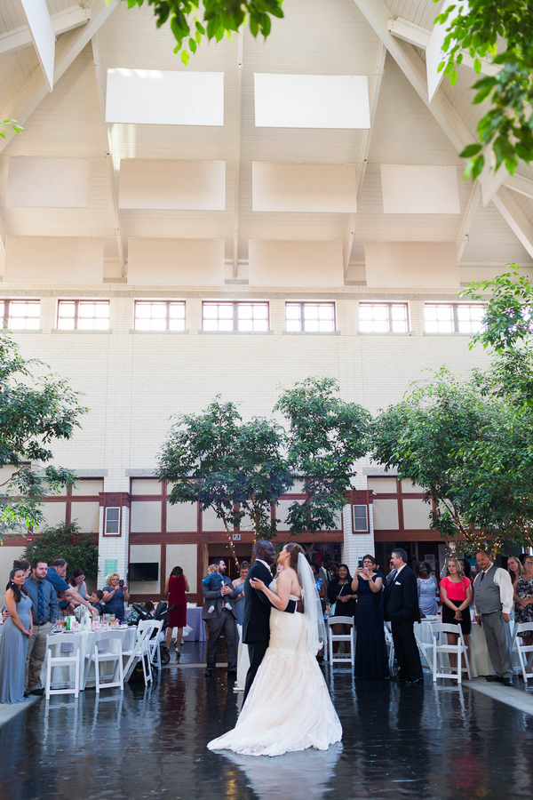 summer museum wedding