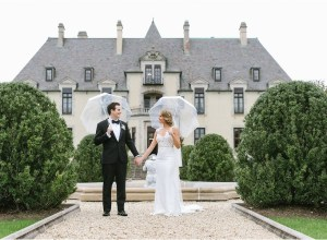 shabby chic castle wedding