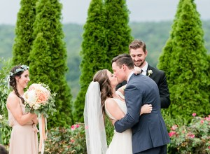 southern cliffside garden wedding