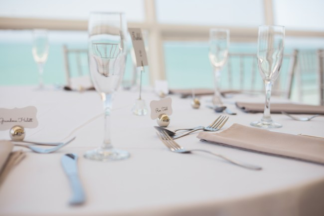 spring seaside wedding