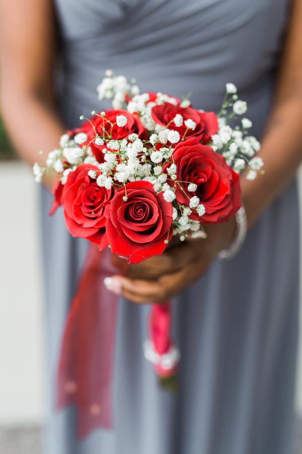 Latrusa Amp James Regal Red Wedding Modern Weddings
