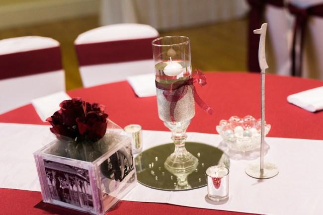 regal red wedding