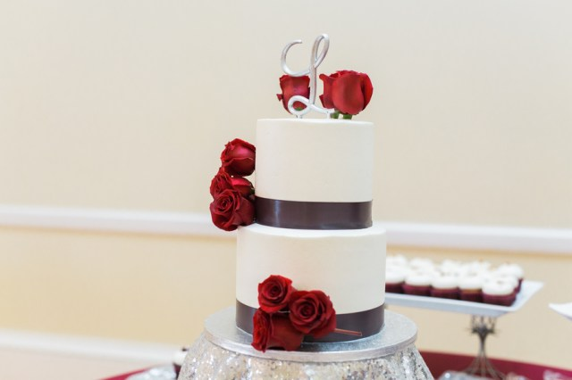 regal red wedding