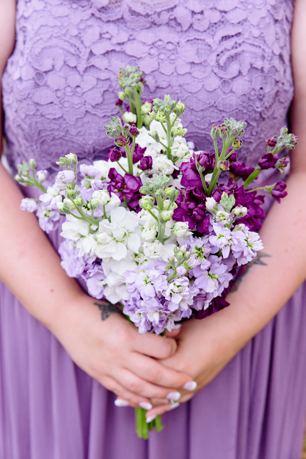 southern spring wedding