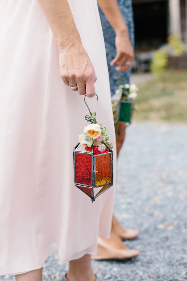 DIY outdoor farm wedding