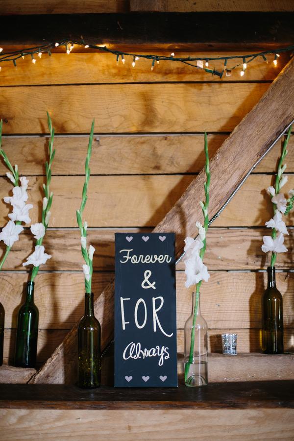 DIY outdoor farm wedding