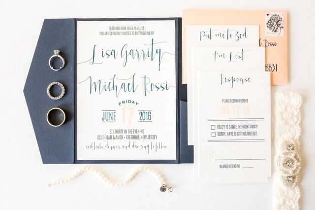 modern chic wedding