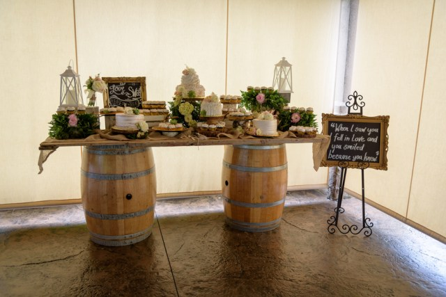 rustic vineyard wedding