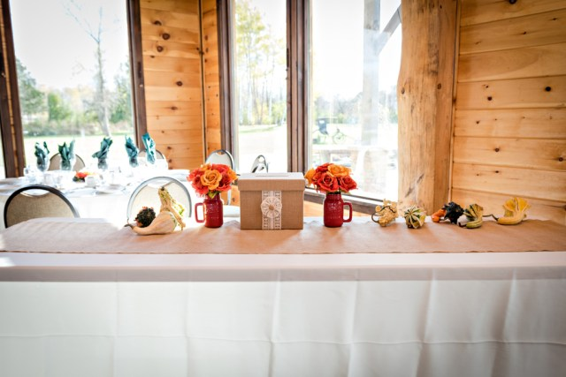 fall vineyard wedding